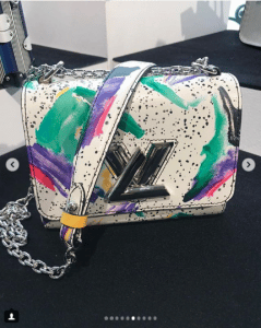 Louis Vuitton Multicolor Printed Twist Bag - Spring 2019