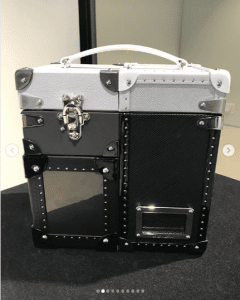 Louis Vuitton Black/Silver Trunk Box Bag 2 - Spring 2019