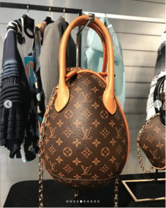 Louis Vuitton Monogram Canvas Egg Bag - Spring 2019