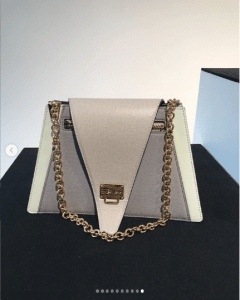 Louis Vuitton Gray/White Flap Bag - Spring 2019