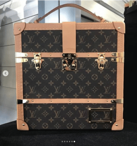 Louis Vuitton Monogram Canvas Trunk Bag