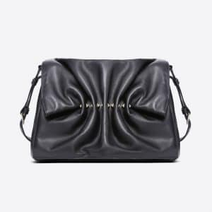 Valentino Black Bloomy Crossbody Bag