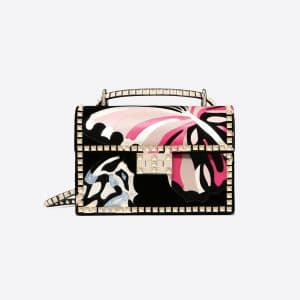 Valentino Black Butterfly Rockstud No Limit Shoulder Bag