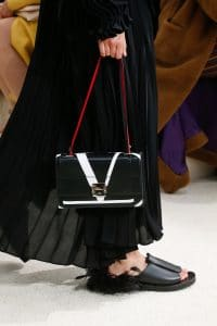 Valentino Black Flap Bag - Spring 2019