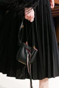 Valentino Black Mini Bucket Bag - Spring 2019