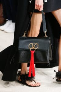 Valentino Black Shoulder Bag - Spring 2019