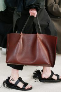 Valentino Brown Tote Bag 2 - Spring 2019