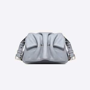 Valentino Dark Blue Mini Bloomy Crossbody Bag