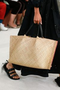 Valentino Natural Woven Tote Bag 2 - Spring 2019
