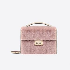 Valentino Pastel Pink Rockstud No Limit Shoulder Bag