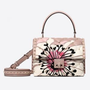 Valentino Poudre Anemone Candystud Top Handle Bag