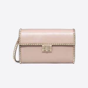 Valentino Poudre Rockstud No Limit Clutch Bag