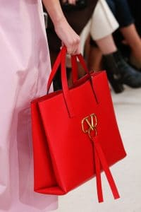 Valentino Red Tote Bag - Spring 2019