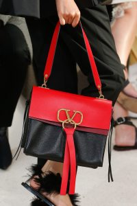 Valentino Red/Black Shoulder Bag - Spring 2019