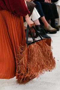 Valentino Tan Fringed Tote Bag 2 - Spring 2019