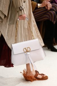 Valentino White Shoulder Bag - Spring 2019