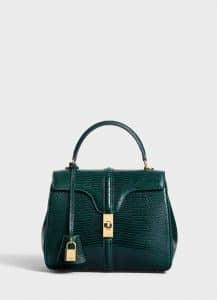 Celine Amazone Lizard Small 16 Bag