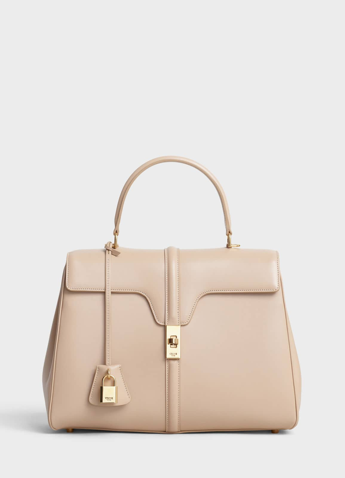 18f3e6ff2a32 Celine Nude Satinated Calfskin Medium 16 Bag