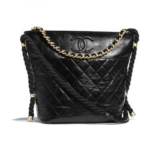 Chanel Black En Vogue Hobo Bag