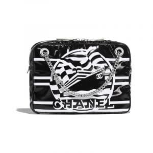Chanel Black La Pausa Bay Small Camera Case Bag