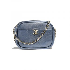Chanel Blue Casual Trip Camera Case Bag