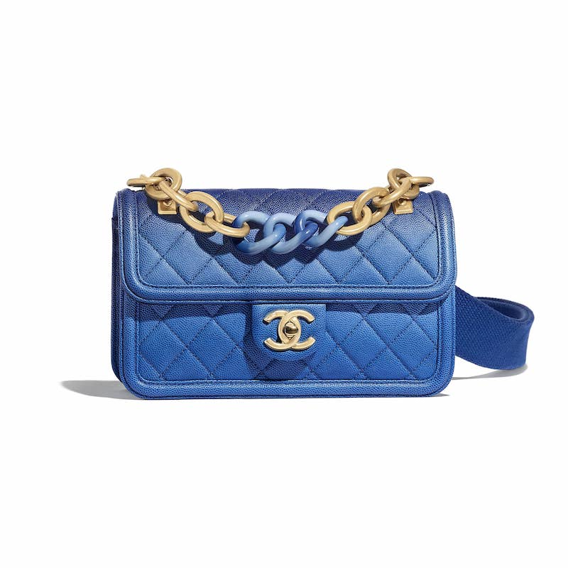 Chanel Blue Sunset On The Sea Small Flap Bag