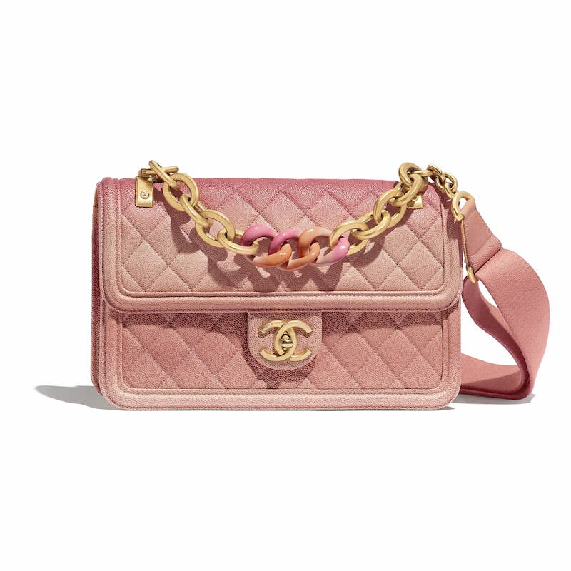 Chanel C Sunset On The Sea Flap Bag