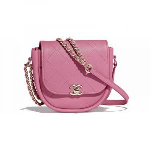 Chanel Pink Casual Trip Messenger Bag