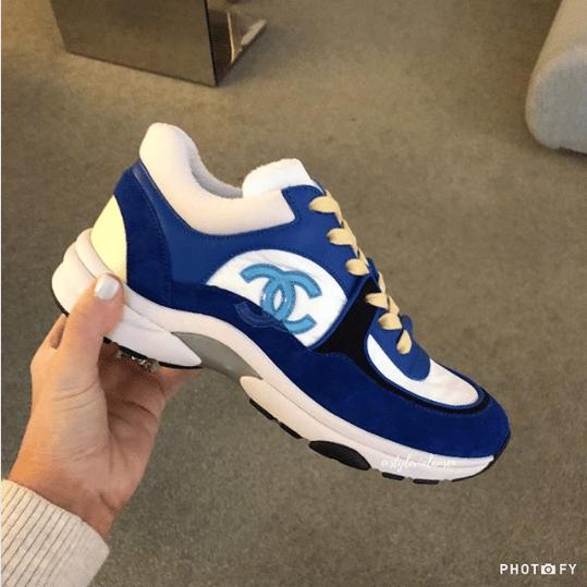 62cdeb4e19fc Chanel Sport Runner Sneaker 1. IG  stylevialauren