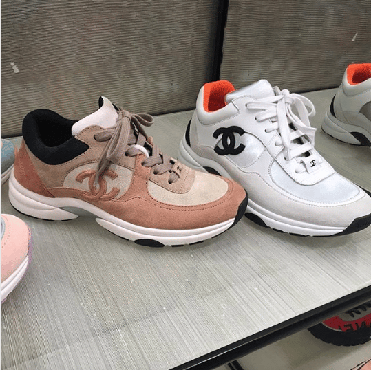 Chanel Sport Runner Sneakers From