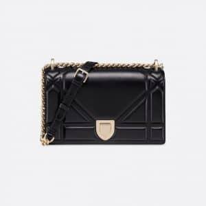Dior Black Diorama Flap Bag