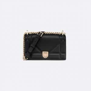 Dior Black Diorama Small Flap Bag