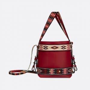 Dior Scarlet Red Diorodeo Hobo Bag