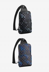 Louis Vuitton Damier Graphite Sling Bags