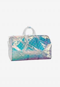 Louis Vuitton Iridescent Monogram Keepall Bag