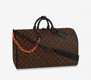 Louis Vuitton Monogram Canvas Keepall Bag