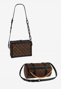 Louis Vuitton Monogram Canvas Soft Petite Malle and Papillon Bags