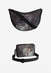 Louis Vuitton Monogram Galaxy Alpha Messenger and Hobo Bags