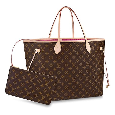 81847dbcf7d9 Size Comparison of the Louis Vuitton Neverfull Bags