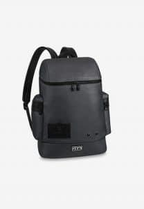 Louis Vuitton Silver Alpha Backpack Bag