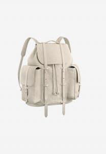Louis Vuitton White Monogram Empreinte Christopher Backpack Bag
