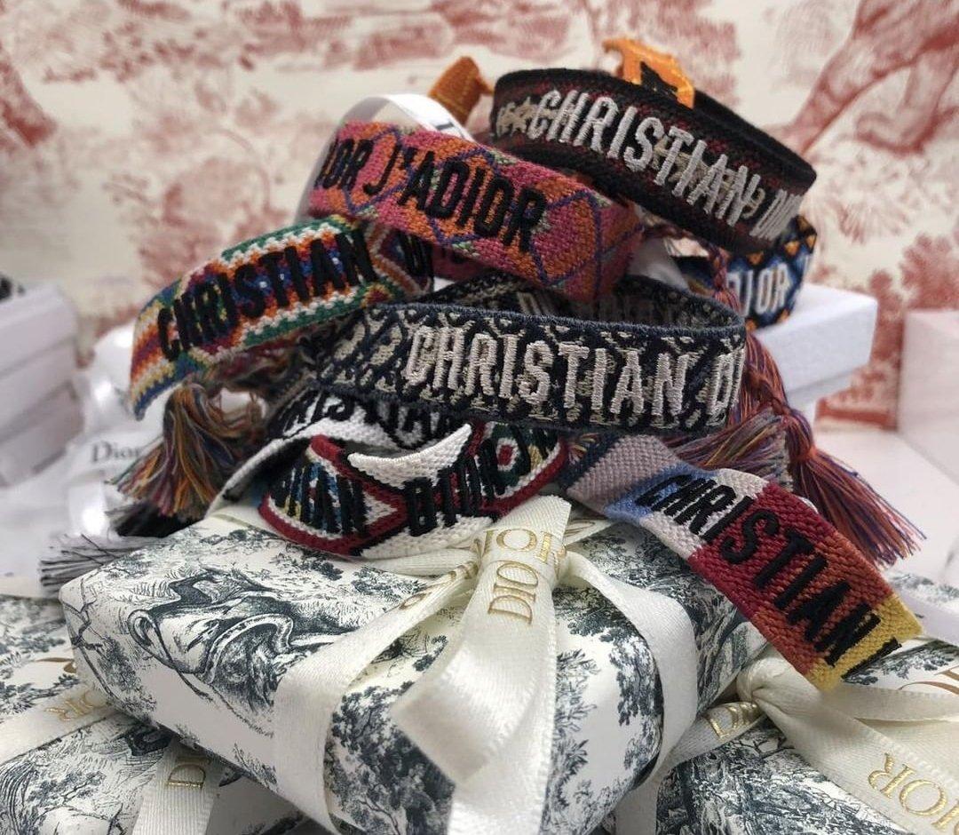 Dior Friendship Bracelet Giveaway Spotted Fashion