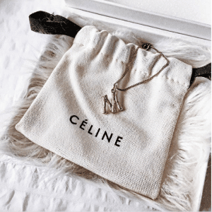 Celine Alphabet Pendant 3