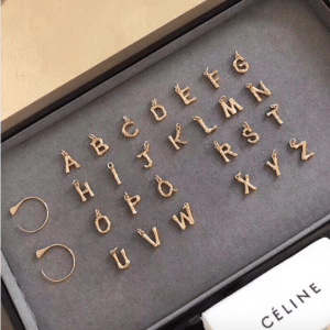 Celine Alphabet Pendant 7