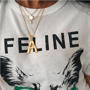 Celine Alphabet Pendant 10