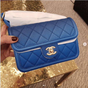 Chanel Blue Sunset On The Sea Waist Bag