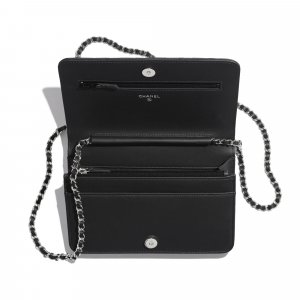 Chanel Studded Camellia Wallet On Chain Bag 2