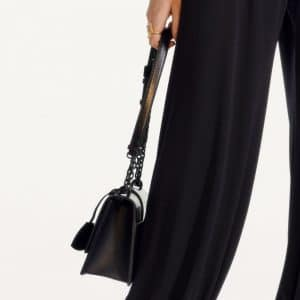 Dior Black Flap Bag - Pre-Fall 2019