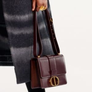 Dior Burgundy Flap Bag - Pre-Fall 2019