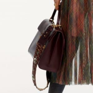 Dior Burgundy Top Handle Bag - Pre-Fall 2019